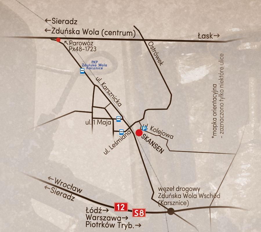 Mapka orientacyjna